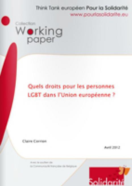 Quels droits pour les personnes LGBT dans l'Union européenne ? - Cover