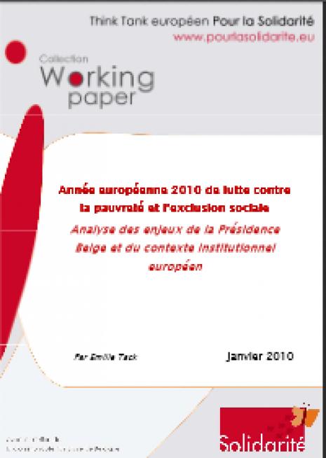 image couverture Année européenne 2010 de lutte contre la pauvreté et l'exclusion sociale la pauvreté et l'exclusion sociale la pauvreté et l'exclusion sociale la pauvreté et l'exclusion sociale