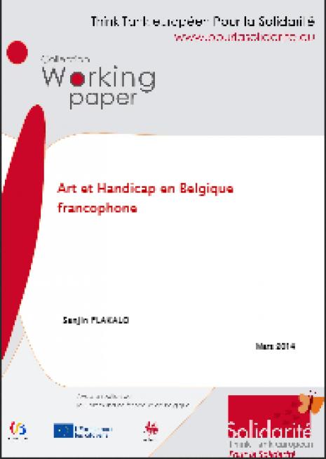 image couverture Art et Handicap en Belgique francophone