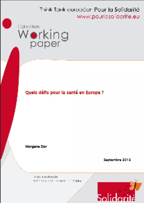 image couverture quels défis pour la santé en europe