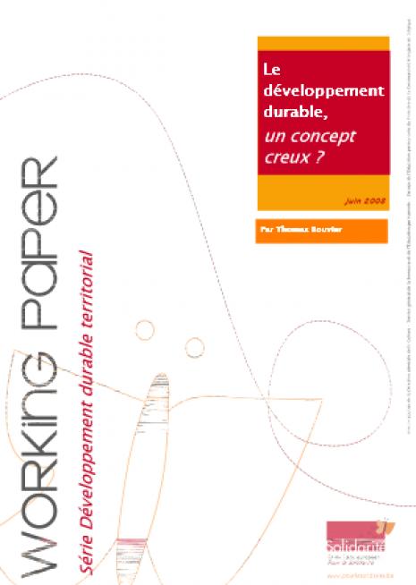 image couverture concept développement durable