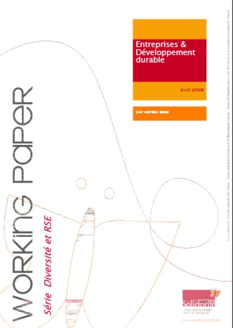 image couverture Entreprises & Développement durable