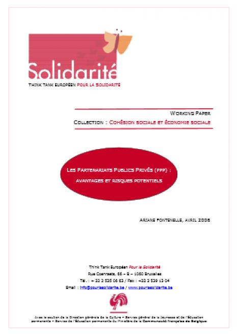 image couverture partenariats public privé