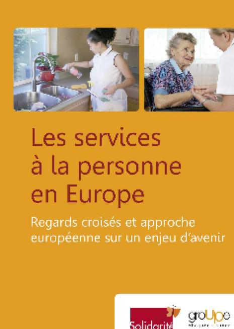 image couverture Les services à la personne en Europe