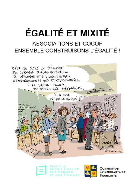 ÉGALITÉ ET MIXITÉ ASSOCIATIONS ET COCOF ENSEMBLE CONSTRUISONS L'ÉGALITÉ !