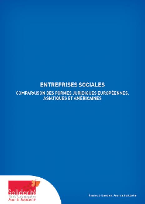 Entreprises sociales – Comparaison des formes juridiques européennes, asiatiques et américaines - cover