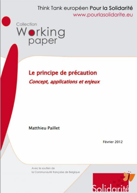 Le principe de précaution  Concept, applications et enjeux